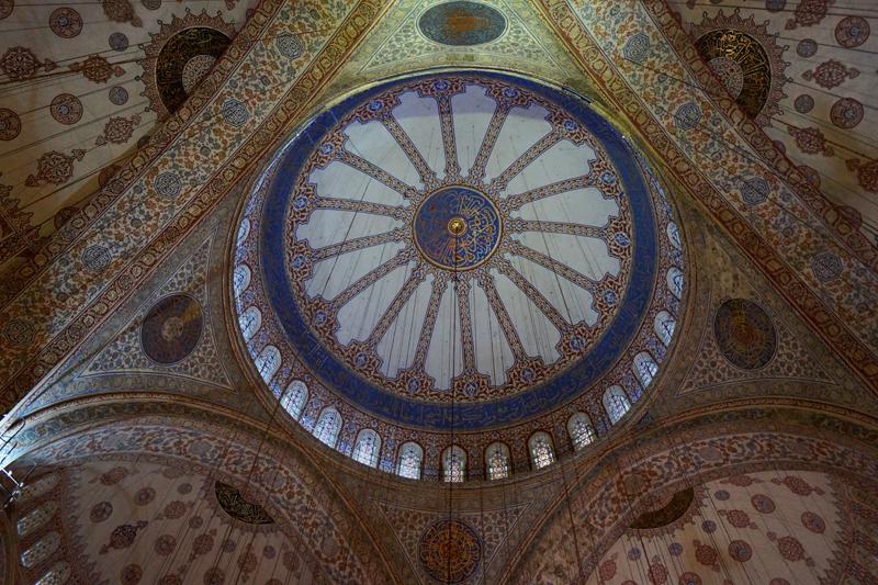 Купол Голубой мечети в Стамбуле