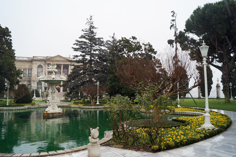 Фото дворец Долмабахче