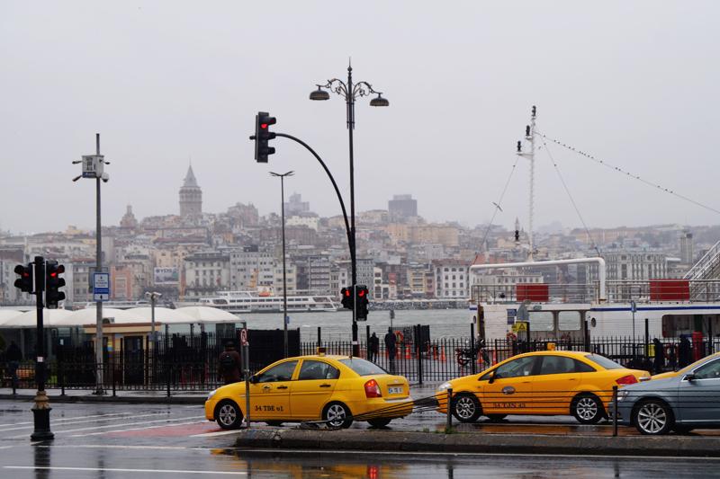 Дорожное движение в Стамбуле