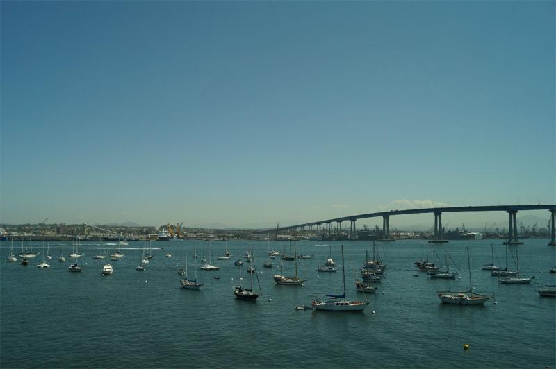 Сан-Диего пролив, лодки